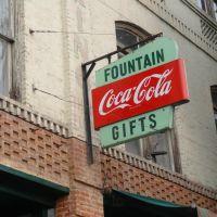 Coca-Cola Sign, Rickey Block, Colville, WA, Колвилл