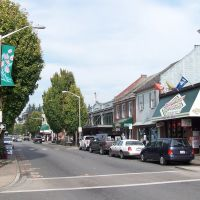 Beautiful Downtown Mount Vernon, Skagit County, Washington, Маунт-Вернон