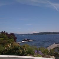 Lake Washington from Medina Beach Park, Медина