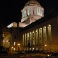 Washington State Capitol at night, Олимпия