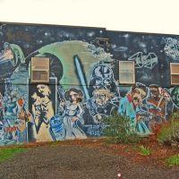 Star Wars Mural, Olympia, Олимпия