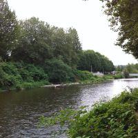 Cedar River near Downtown Renton, Рентон