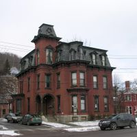 Main Street, Montpelier, VT. Second Empire style, 1870s, Ривертон