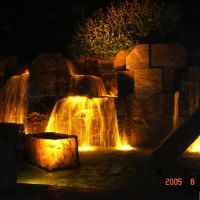 FDR Memorial by Night, Рос-Хилл