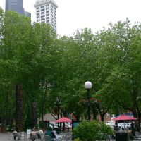 Occidental Park, Seattle, WA, Сиэттл