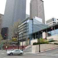 Seattle City Hall, Columbia Center, Municipal Tower (Wide) - KMF, Сиэттл