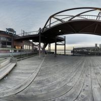 Near Sphere Panorama of Waterfront Park      (Big... 4 MB), Сиэттл