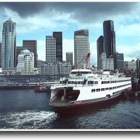 Washington State Ferry: Seattle - 199303LJW, Сиэттл