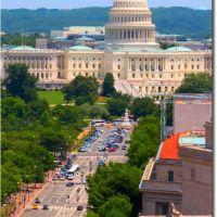The Capitol and Pennsylvania Ave, Washington DC, Скайвэй