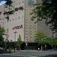 Macys in downtown Spokane, Washington, Спокан