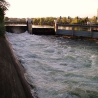Spokane River, Spokane, Washington, Спокан