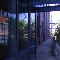 Science building corridor, Такома