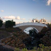 Bridge, ships, and sky, Такома