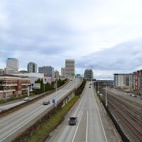 I-705 in Tacoma, Такома