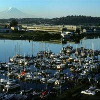 Mount Rainier from Tacoma - 198906LJW, Такома
