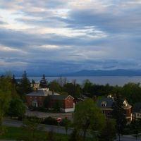 Scenic view of Burlington, Берлингтон