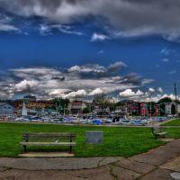 View of Burlington from the Harbor (HDR), Берлингтон