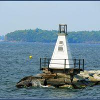 Lighthouse in Champlain Lake, Берлингтон