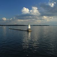 Burlington Breakwater North Lighthouse, Берлингтон