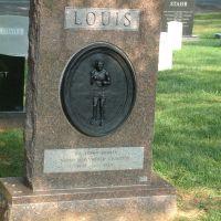 Joe Louis gravesite., Арлингтон