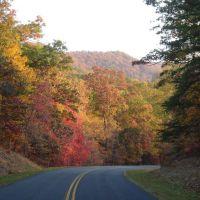 BlueRidge Parkway Fall, Блу-Ридж