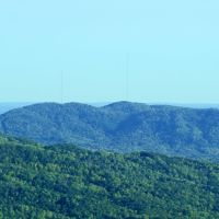 Thaxton Mountian From Blue Ridge Parkway, Блу-Ридж
