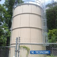 Water Tank, No trespassing, Блу-Ридж
