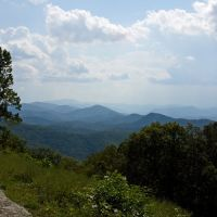 Blue Ridge Mountains, Blue Ridge Parkway, VA, Блу-Ридж