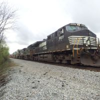 Fast freight leaving roanoke, Винтон