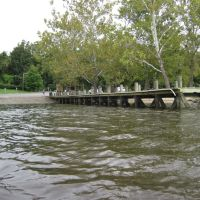 Occoquan regional park boat ramp from the river, Вудбридж