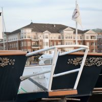 1960s boat @ Belmont Bay Harbor Marina, Вудбридж