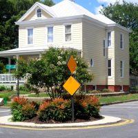 Traffic circle at Highland Park, Richmond VA, Ист-Хайленд-Парк