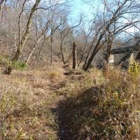 Bull Run-Occoquan Trail below Johnny Moore Creek, Манассас-Парк