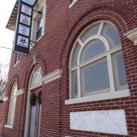 Cornerstone, Masonic Temple, Marion, VA, Марион