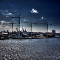 Shipyards on the Elizabeth River, Норфолк