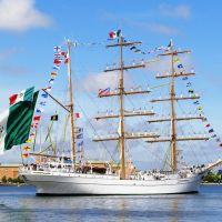 Cuauhtémoc Leaving Norfolk, Норфолк
