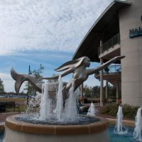 Half Moone Mermaid Fountain, Портсмут