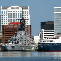 USS Wisconsin, Norfolk, Портсмут