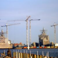 US Navy forces base in Norfolk, Virginia, Портсмут