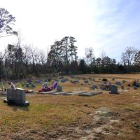 VIRGINIA: ISLE OF WIGHT COUNTY: RUSHMERE: First Gravel Hill Baptist Church, 5186 Old Stage Highway (S.R. 10) cemetery 2, Рашмер