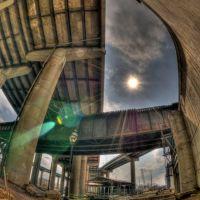Floodwall & I-95, Ричмонд