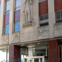 Thomas Jefferson Frieze on a State Office Building - Richmond VA>, Ричмонд