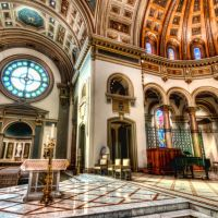 Cathedral HDR Cathedral of the Sacred Heart - RVA #HDR http://www.flickr.com/photos/skynoir/6575474993/lightbox/, Ричмонд