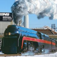 N&W 611 - Roanoke, VA, Роанок