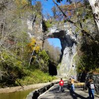 The Bridge Of GOD, Natural Bridge, Roanoke Virginia, Роанок