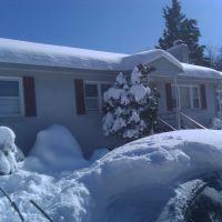 House after big snow, Севен-Корнерс