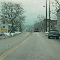 Draft Avenue near the railroad crossing, Стьюартс-Драфт