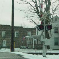 Draft Avenue railroad crossing, Стьюартс-Драфт