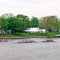 Crew race on the Rappahannock Virginia at Tappahannock, Таппаханнок
