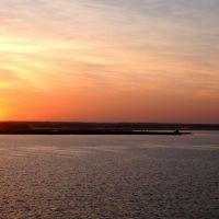 Sunrise over Rappahannock River - Tappahannock VA, Таппаханнок